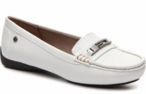 dsw white loafer