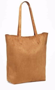 tan tall bag