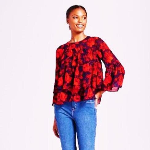 target floral blouse (2)
